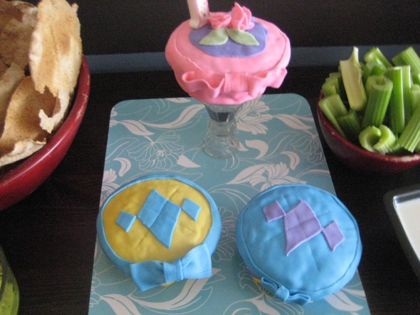 First birthday Fondant Cakes
